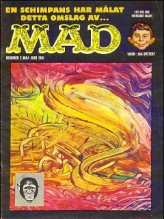 Go to MAD Magazine #2 1960 • Sweden