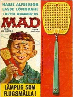 Go to MAD Magazine #3 1960 • Sweden