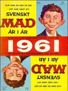 Go to MAD Magazine #6 1960 • Sweden