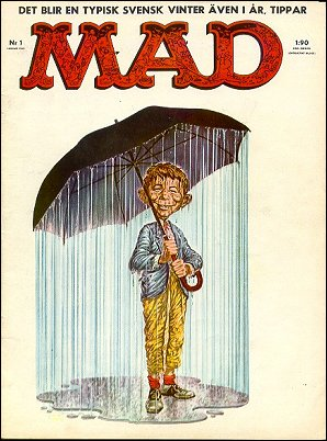 MAD Magazine #9 • Sweden
