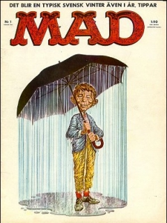 Go to MAD Magazine #1 1961 • Sweden