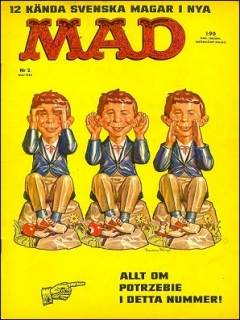 Go to MAD Magazine #2 1961 • Sweden