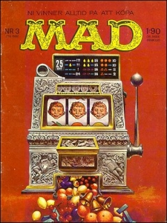 Go to MAD Magazine #3 1961 • Sweden