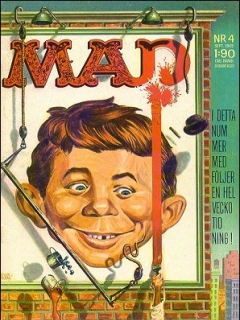 Go to MAD Magazine #4 1961 • Sweden