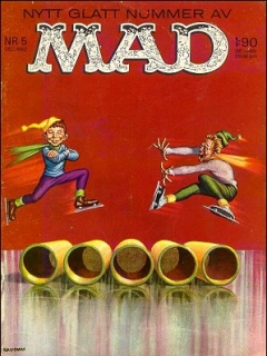 Go to MAD Magazine #13 • Sweden