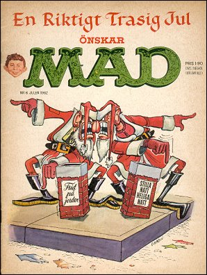 MAD Magazine #6 • Sweden