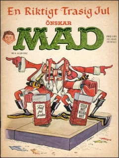 Go to MAD Magazine #6 1961 • Sweden