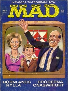 Go to MAD Magazine #1 1962 • Sweden