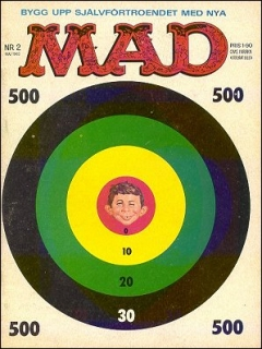 Go to MAD Magazine #2 1962 • Sweden