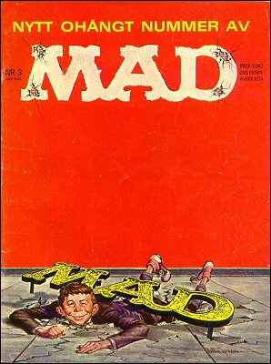 MAD Magazine #17 • Sweden