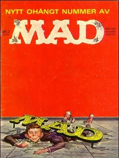 Go to MAD Magazine #3 1962 • Sweden