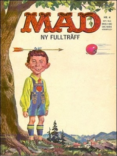 Go to MAD Magazine #4 1962 • Sweden