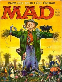 Go to MAD Magazine #5 1962 • Sweden