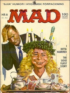 Go to MAD Magazine #6 1962 • Sweden