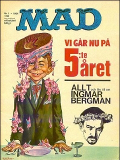 Go to MAD Magazine #1 1963 • Sweden