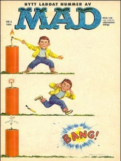 Go to MAD Magazine #2 1963 • Sweden