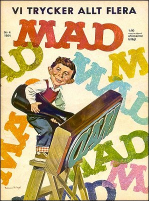 MAD Magazine #24 • Sweden