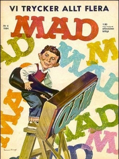 Go to MAD Magazine #4 1963 • Sweden