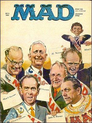 MAD Magazine #6 1963 • Sweden