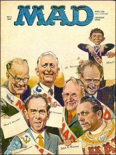 Go to MAD Magazine #6 1963 • Sweden