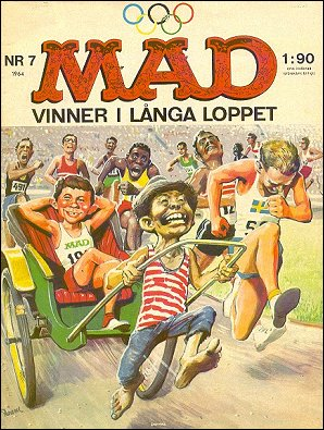 MAD Magazine #7 • Sweden