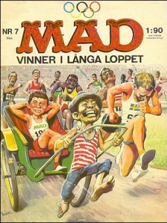 Go to MAD Magazine #7 1963 • Sweden