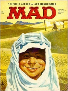 Go to MAD Magazine #8 1963 • Sweden