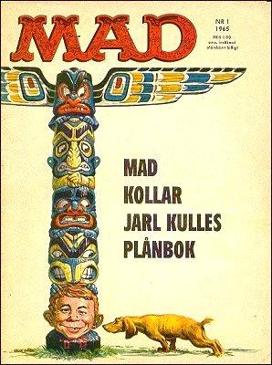 MAD Magazine #30 • Sweden