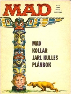 Go to MAD Magazine #1 1964 • Sweden