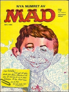 Go to MAD Magazine #3 1964 • Sweden