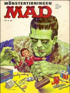 Go to MAD Magazine #4 1964 • Sweden