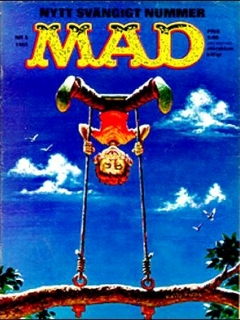 Go to MAD Magazine #5 1964 • Sweden