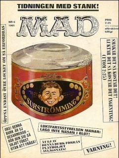 Go to MAD Magazine #6 1964 • Sweden