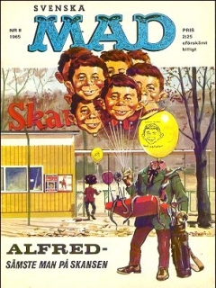 Go to MAD Magazine #8 1964 • Sweden