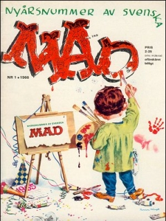 Go to MAD Magazine #1 1965 • Sweden