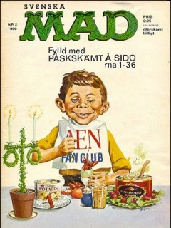 Go to MAD Magazine #2 1965 • Sweden