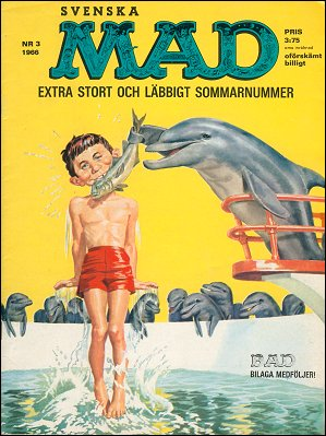 MAD Magazine #41 • Sweden
