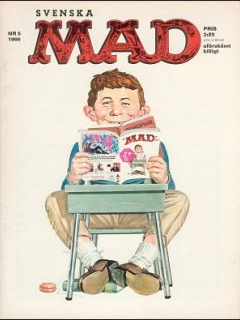 Go to MAD Magazine #5 1965 • Sweden