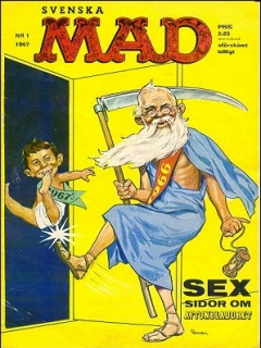 Go to MAD Magazine #1 1966 • Sweden