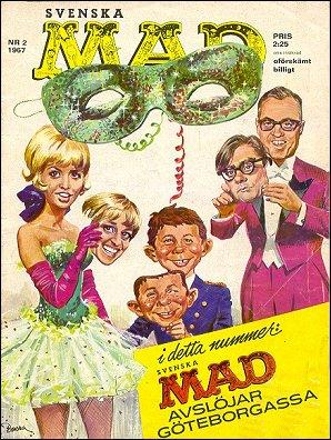 MAD Magazine #2 1966 • Sweden