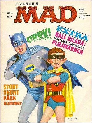MAD Magazine #3 1966 • Sweden