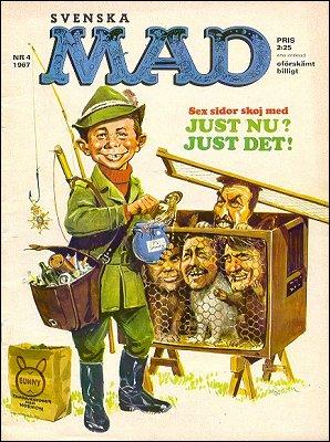 MAD Magazine #4 1966 • Sweden
