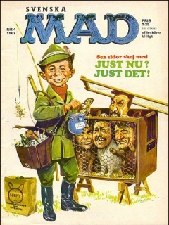 Go to MAD Magazine #4 1966 • Sweden