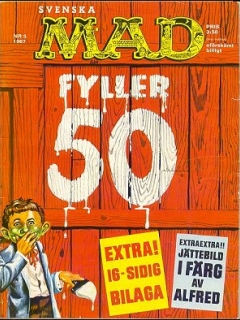 Go to MAD Magazine #50 • Sweden