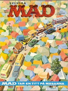 Go to MAD Magazine #51 • Sweden