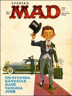 Go to MAD Magazine #7 1966 • Sweden