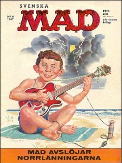 Go to MAD Magazine #8 1966 • Sweden
