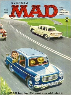 Go to MAD Magazine #9 1966 • Sweden