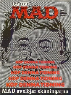 Go to MAD Magazine #55 • Sweden
