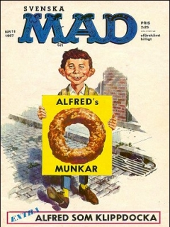 Go to MAD Magazine #11 1966 • Sweden